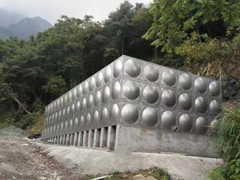 矩形不锈钢水箱270吨