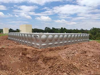 253.5T方形不锈钢生活水箱