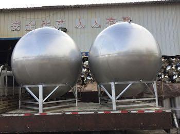不銹鋼球形水箱