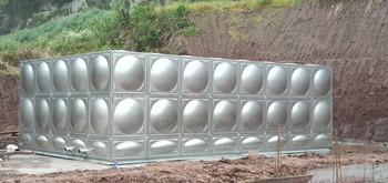 矩形不銹鋼水箱  工地:達州