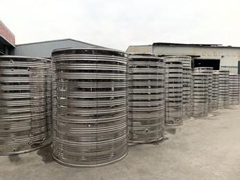 圓柱形不銹鋼保溫水箱