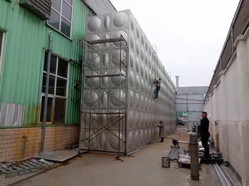 组合式不锈钢水箱385吨