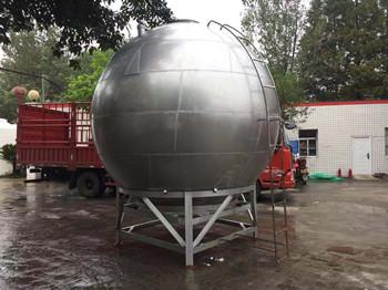 球形不锈钢水箱15吨